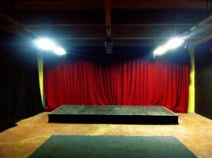 Stage build for the Melbourne Fringe Festival 2016