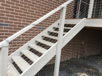 Back stair repair