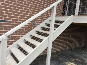 Back stair repair