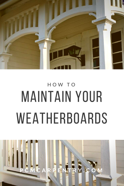 how to Maintain your weatherboards
