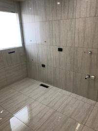 Renovation works in progress, bathroom renovation
