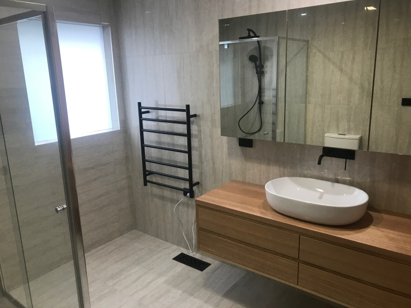 Final product - completed bathroom renovation
