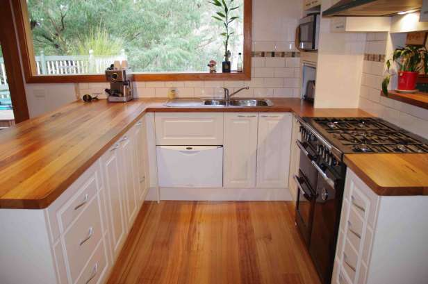 timber benchtops